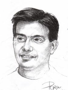 Retrato hombre 40